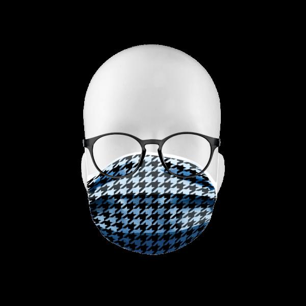 """Erwachsenenschutzmaske """"Hahnentritt"""""""