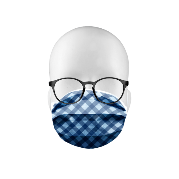 """Erwachsenenschutzmaske """"Blue Caro"""""""